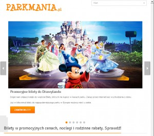 Bilety do disneylandu - parkmania.pl