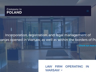 Registration companies in Poland - companyinpoland.info