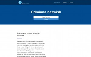 http://odmiananazwisk.pl