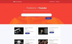 savetodesktop.com - Youtube to MP3 Konwerter