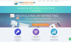 twojmarketing.nl - Usługi marketingowe dla firm w Holadnii
