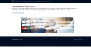 bank-ranking.pl - Ranking kont firmowych